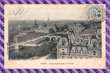 CARTOLINA 75 - PARIGI - Panorama di 7 ponti