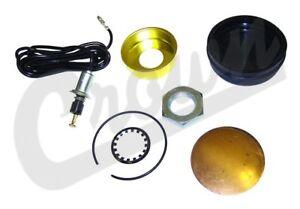 Horn Button Kit For Jeep 1963-1971 Cj3B Cj5 Cj6 1963-1964 Fc-150 Crown 927416K