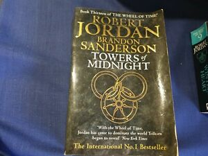 Towers Of Midnight Robert Jordan - Printed Signature Edition
