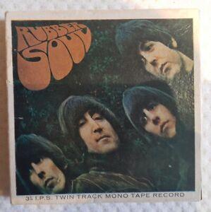 The Beatles Rubber Soul Reel To Reel 3 3/4 ips Mono
