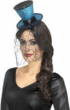 Mini Gothic Top Hat on Headband - Ladies