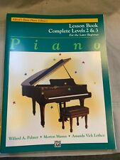 Alfred's Basic Piano Library Lesson Book Complete Levels 2 & 3 NEW