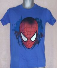 Spiderman Big Head Men's Tee Small
