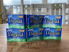 JVC Mini DV Digital Video Cassette Tapes X6 Joblot
