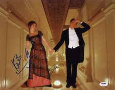 Leonardo DiCaprio Kate Winslet SIGNED 11x14 Photo Titanic PSA/DNA AUTOGRAPHED