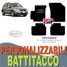 PER SUZUKI SX4 (1) TAPPETINI AUTO SU MISURA IN MOQUETTE CON BATTITACCO | EASY