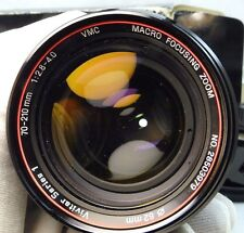 Vivitar 70-210mm f2.8-4 Lens Adapted to CANON EOS EF T6i 60D 70D 80D cameras