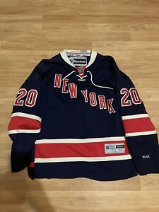 Chris Kreider NEW YORK RANGERS REEBOK  THIRD 85th ANNIVERSARY NHL Hockey JERSEY