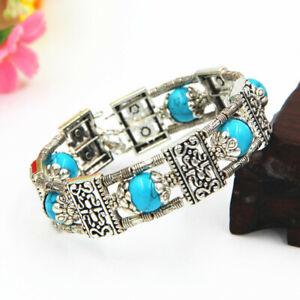 Jewellery Bangle Tibetan Silver Bracelet Turquoise Bangle Jewelry Bracelet 63