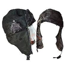 New Men's Ladies Winter Thermal Russian Rain Shower Proof Ski Trapper Fur Hat