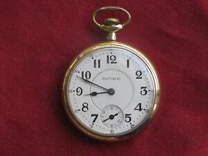 Southbend 17j 16s Model 2 Pocket Watch, 211 Movement, ca. 1924