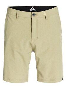 "Quiksilver Everyday Yarn Dye 20"" Amphibian Boardshorts Swimwear Walkshorts Sz 32"