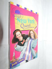Highflyers #4 New York Quest by Judy Allen PB 1996 children's mystery novel