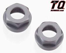 Tekno RC TKR6015 Aluminum Shock Cartridge Cap Set (Gun Metal) (2) SCT410