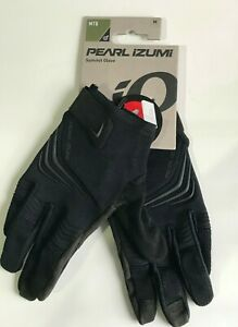 New Pearl Izumi Summit Glove Men MTB Full Fingers Phantom / Black Medium