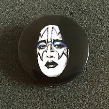 KISS OFFICIALLY LICENSED LARGE BUTTON PIN BADGE - ACE FREHLEY