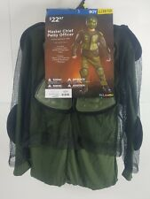 Halloween Costume Cosplay Halo's Master Chief Petty Officer Boy L(10-12) GH
