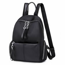 Women Black Backpack Large Capacity Travel Bags Fashion Leisure Backpacks