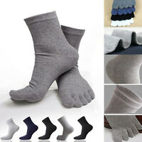 Men/Women Couple Comfy Socks Unisex Sports Five Finger Cotton Socks Toe Fall