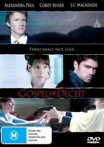Gospel Of Deceit DVD Alexandra Paul 2006 TV B GRADE Thriller Movie AUSTRALIA R4