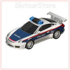 """Carrera GO 61293 Porsche 997 GT3 """"Polizei Österreich"""" (mit Blaulicht) 1:43 Auto"""