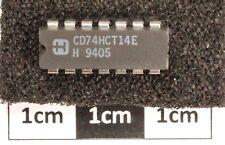 Harris CD74HCT14E Hex inversione Trigger di Schmitt DIL14
