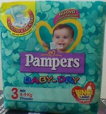 PAMPERS Baby-Dry 3°Mis. 4-9 kg 6 conf. 120 pannolini