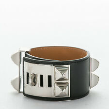452b3c8f694 NEW AUTHENTIC Large Hermes Calfskin Collier de Chien CDC Bracelet