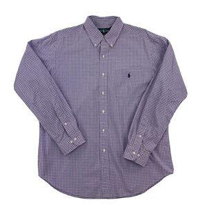 Ralph Lauren Mens Classic Fit Long Sleeve Button Down Dress Shirt 16½ 34/35