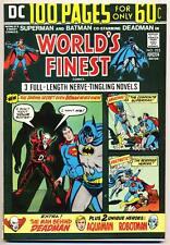 WORLD'S FINEST COMICS #223 F/VF, Superman, Batman 100 Page Giant, DC Comics 1974