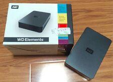 Western Digital WD Elements Desktop 2 TB External Hard Drive - Original Box