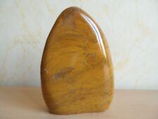 jaspe jaune bloc à poser de 610 g de Madagascar 8a60