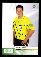 Thorsten Kinhöfer Autogrammkarte DFB Schiedsrichter Original Signiert+ A 133570