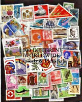 Giant Collection 1000 Different Large Colorful Topical & Pictorial World Stamps