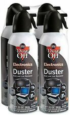 Falcon DO Duster Air Spray Cleaner 10OZ Can Computer Keyboard Mouse Blinds 4 Set
