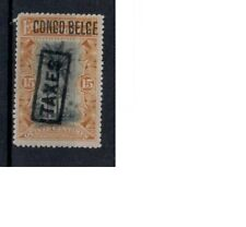 Belgisch Congo cob tax 19 (1909) plakker - mh - x