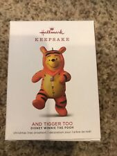 Hallmark 2018 ~ Disney Winnie the Pooh and Tigger Too Ornament
