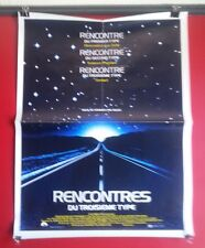 Close Encounters Of The Third Kind French Poster Steven Spielberg Aliens SciFi