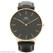 NEW DANIEL WELLINGTON DW00100139 BLACK SHEFFIELD WATCH 36M - 2 YEAR WARRANTY