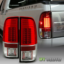 Red Clear 2008-2016 Ford F250 F350 F450 Superduty Lumileds LED Tail Lights Lamps