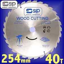 SIP 06128 40T 254mm Gen Purpose Circular Saw Blade for 01918 / 01574 table rip