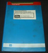 Microfich Audi 80 90 Typ 81 / 85 B2 4 Zylinder Vergaser Motor Schlepphebel FY FZ