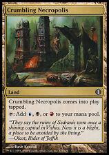 1x Crumbling Necropolis Shards of Alara MtG Magic Land Uncommon 1 x1 Card Cards