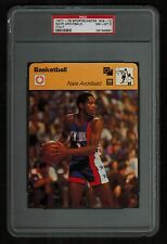PSA 8 NATE ARCHIBALD Sportscaster Basketball Card #09-12 ITALY