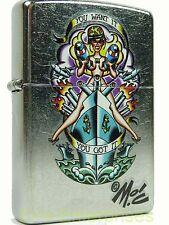Zippo You Want It Mitch O´Connell Feuerzeug Neu 2002271 Tattoo Motiv