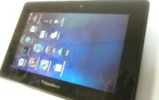 BlackBerry PlayBook 16GB, Wi-Fi, 7in - Black case and factory charger.