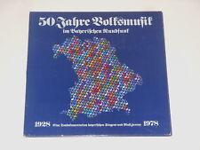 50 Jahre Volksmusik im Bayerischen Rundfunk 1928-1978 - 3LP - PR 41 136-1/3