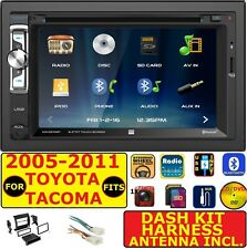 FOR 05-11 TOYOTA TACOMA BLUETOOTH USB CD/DVD SD AUX CAR RADIO STEREO PACKAGE