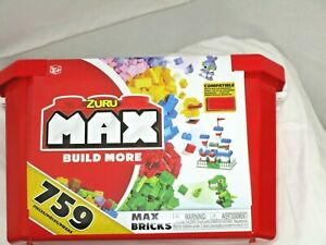 ZURU Build More with the MAX Bricks Value Building Set!