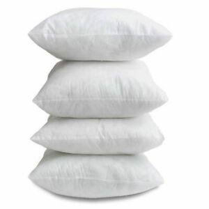 """Cushion Pads Inners Fillers Inserts 18""""x18"""" pack of 4"""